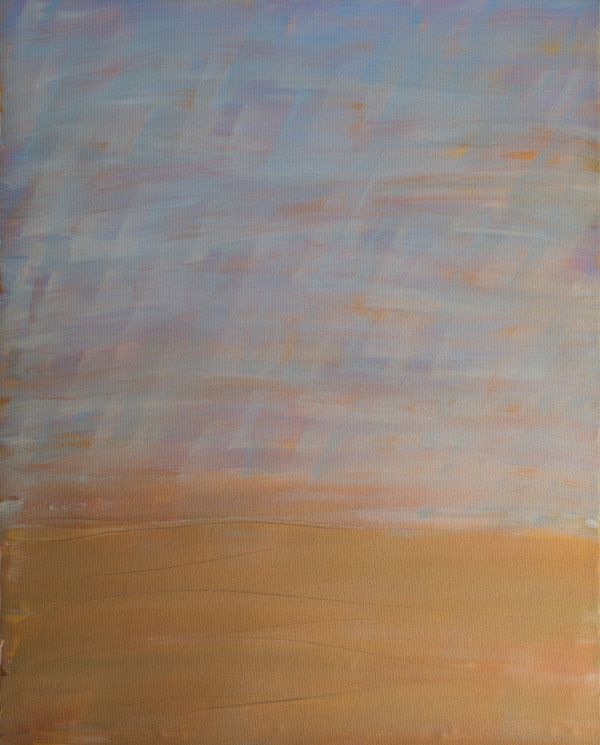 Cascading Golden Hills by Sean Christopher Ward