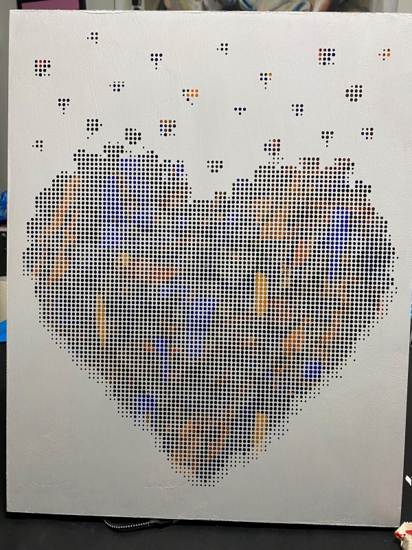 Commission - Charles Baughman Heart by Sean Christopher Ward