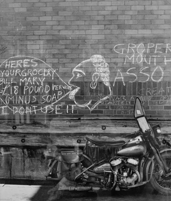 Harley Davidson by Max  Dupain