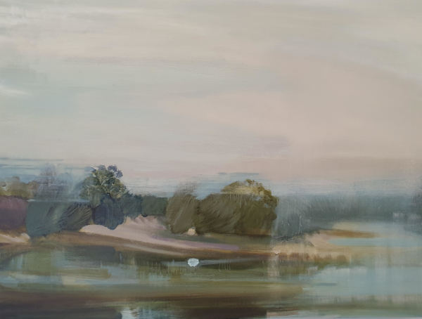 Across the Wingecarribee River 1 by Libby Wakefield