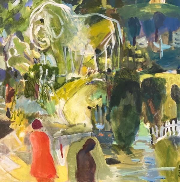Green Elephant by Judy Weeks