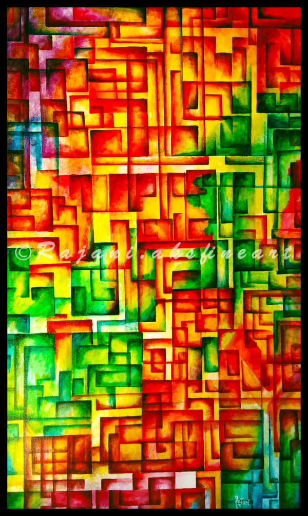 The Maze by Rajani Ambade