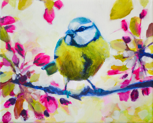 Amanda Schwabe的《Bright Little Bird》