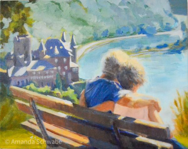 Amanda Schwabe的《爱是一幅美丽的风景》