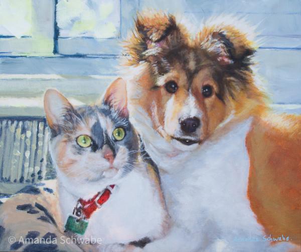 Amanda Schwabe的《Puppy Fluff》