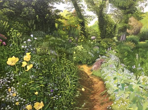 Path Flowers by Paul Beckingham