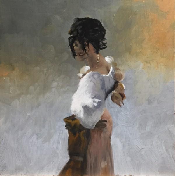 Rosina, after John Singer Sargent by Paul Beckingham