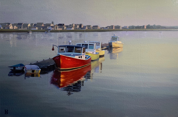 Wells Harbor by Paul Beckingham