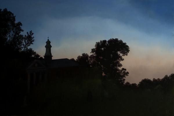 Metropolitan Hospital Sunset by Paul Beckingham