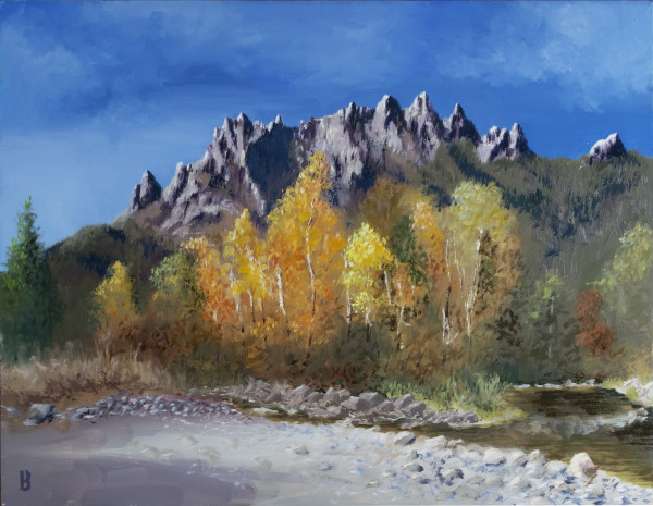 Castle Crags by Paul Beckingham