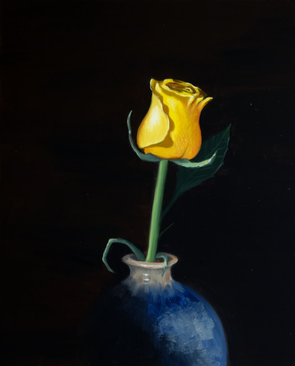 Yellow Rose by Paul Beckingham