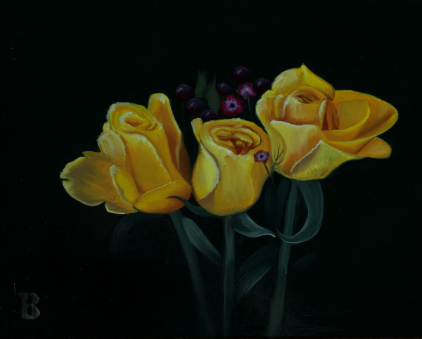 Yellow Roses by Paul Beckingham