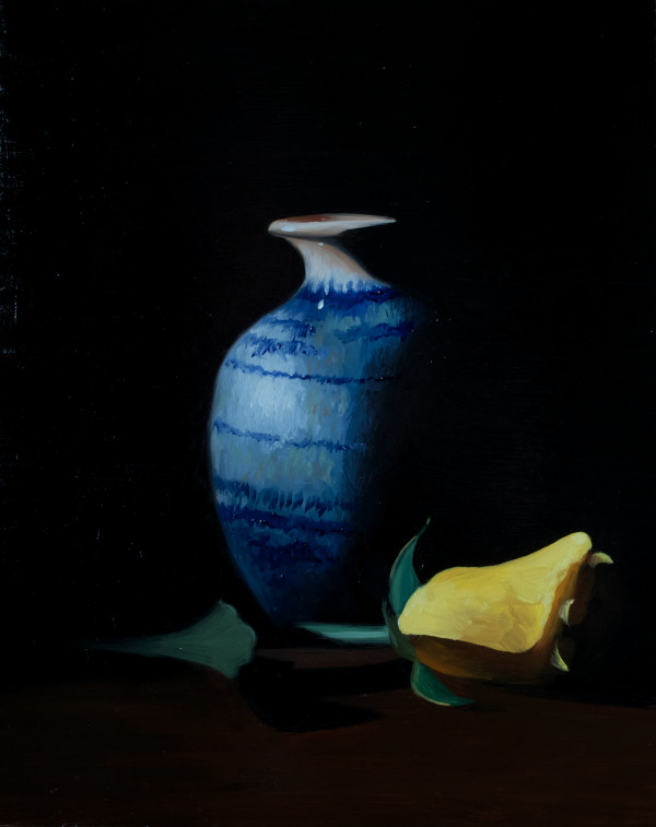 Vase & Rose by Paul Beckingham
