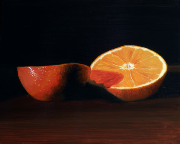 Cut Mandarin by Paul Beckingham