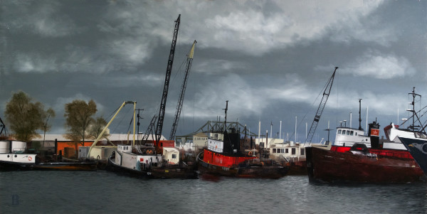 New Bedford by Paul Beckingham