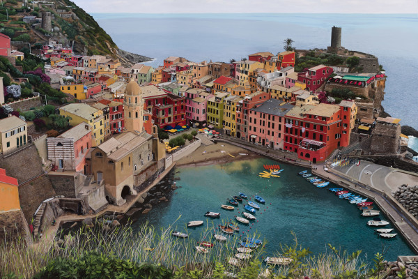 Cinque Terre by Paul Beckingham