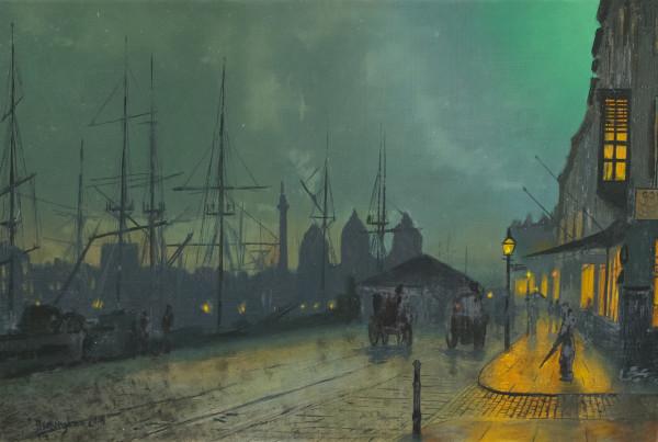 Silence (After John Atkinson Grimshaw) by Paul Beckingham