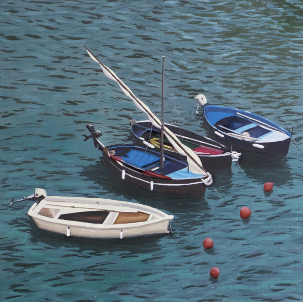 Vernazza Boats by Paul Beckingham
