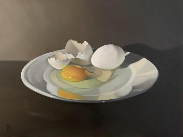 White Eggs by Paul Beckingham