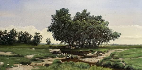 Oaks (after Ivan Shishkin) by Paul Beckingham