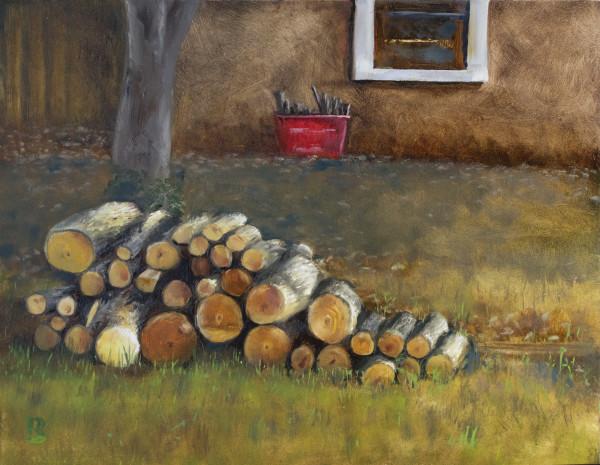 Woodpile by Paul Beckingham