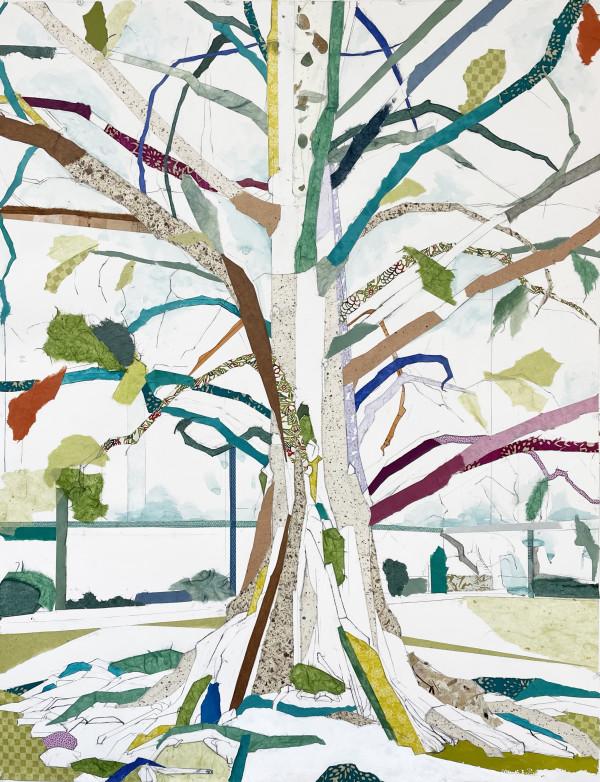 Dawn Redwood I (Tilt-a-Whirl) by Jill Lear