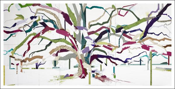 Glenwood Oak X by Jill Lear