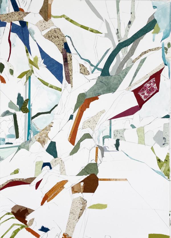 """34° 02' 44"""" N  118° 29' 51"""" W Moreton Bay Fig XX by Jill Lear"""