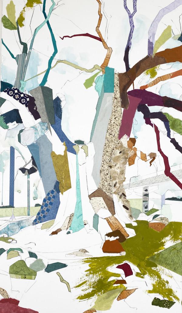 """30° 25' 08"""" N 91° 26' 08"""" W  Eminent Domain VI, 2020 (Grosse Tete Oak) by Jill Lear"""