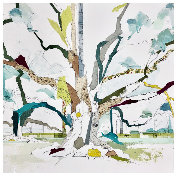 """30° 00' 17"""" N 90° 46' 34.0"""" W  Oak Alley Plantation Oak I by Jill Lear"""
