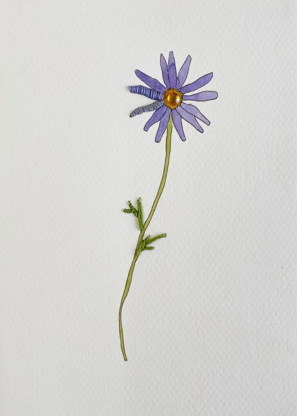 Periwinkle Flora I by Jill Lear