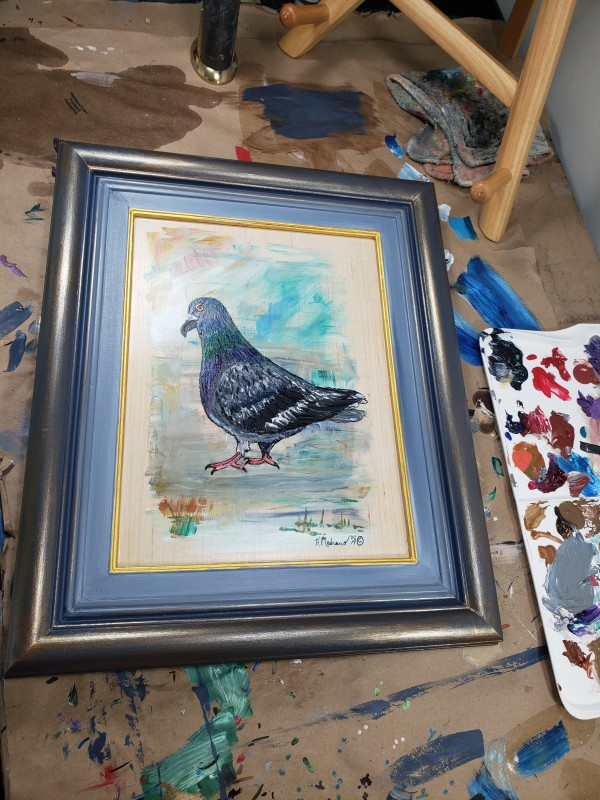 The Left Pigeon by Heather Medrano