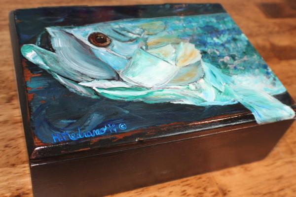 Tarpon Man Box by Heather Medrano