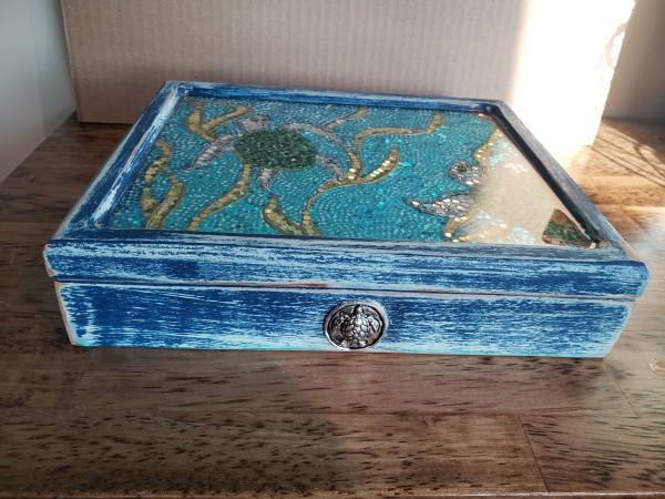 Turtle Trinket box by Heather Medrano