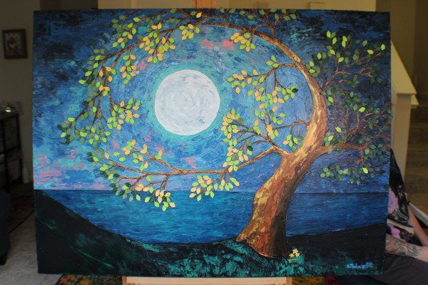 Under a Spring Moon by Heather Medrano