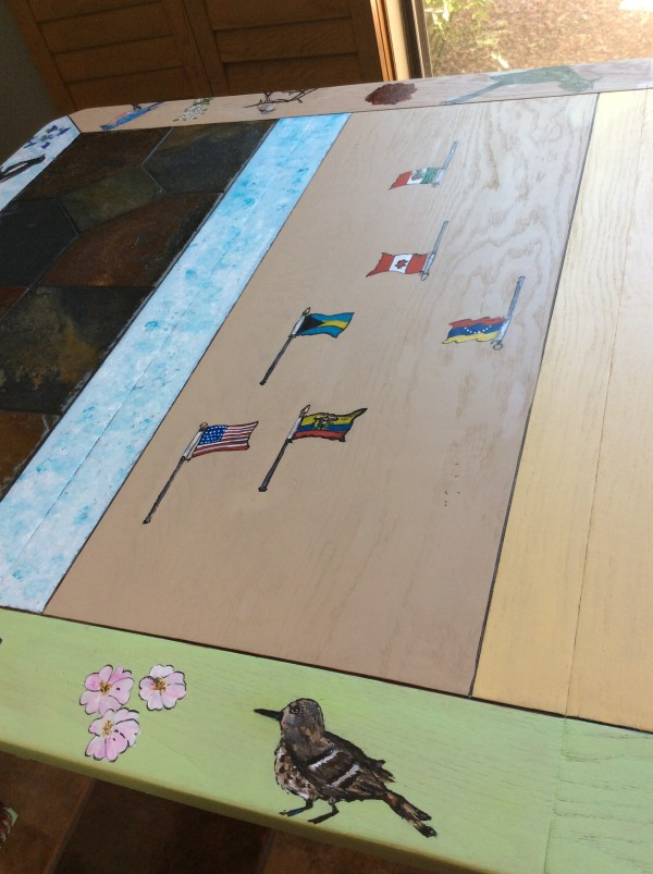 Retirement Dining table by Heather Medrano