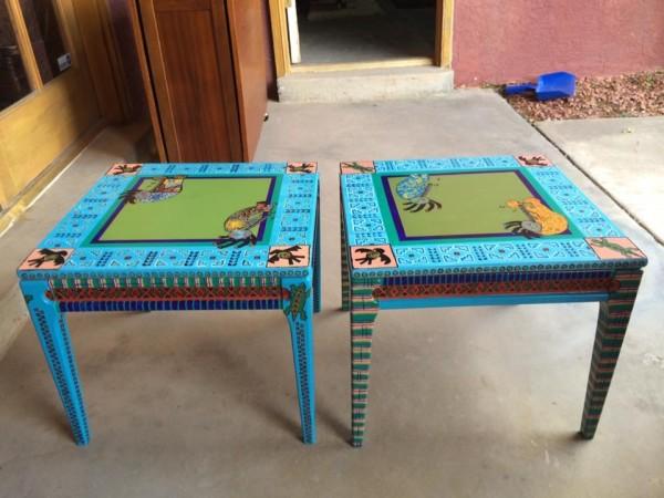 Kokopelli table set by Heather Medrano