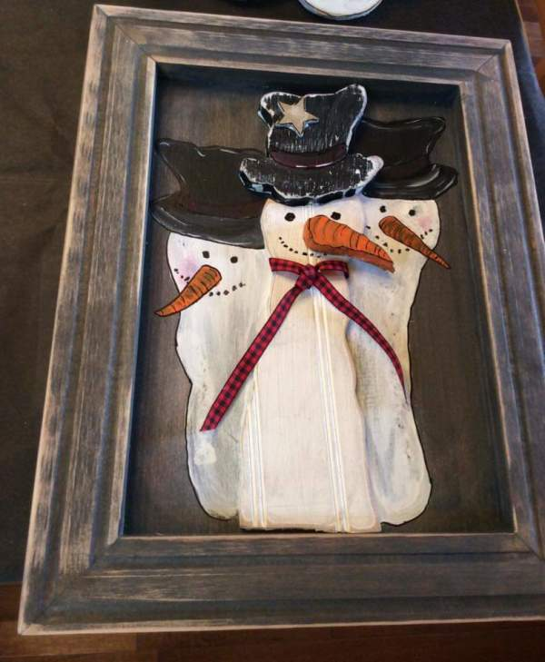 Christmas store snowmen picture by Heather Medrano