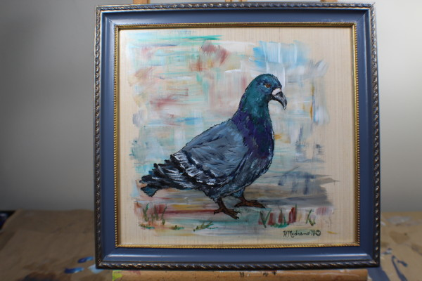 The Right Pigeon by Heather Medrano