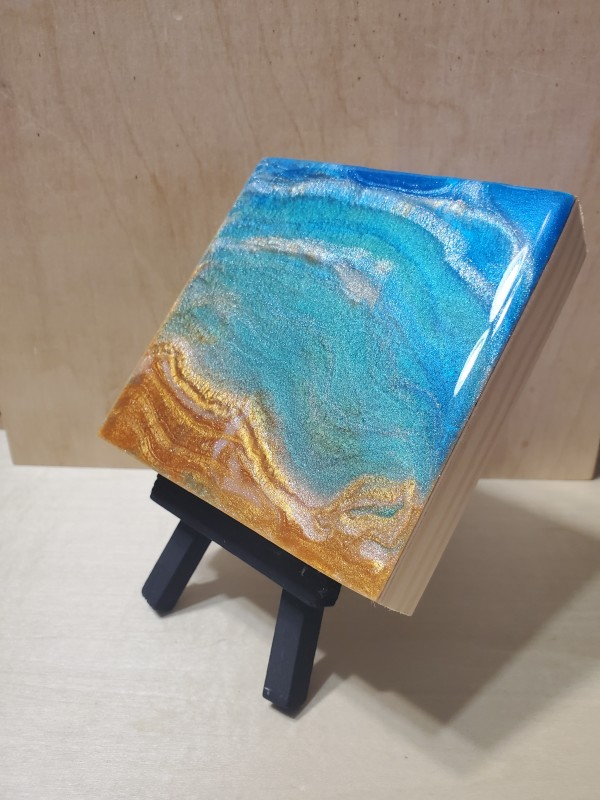 Mini Boards Art Pieces by Lucy Giboyeaux
