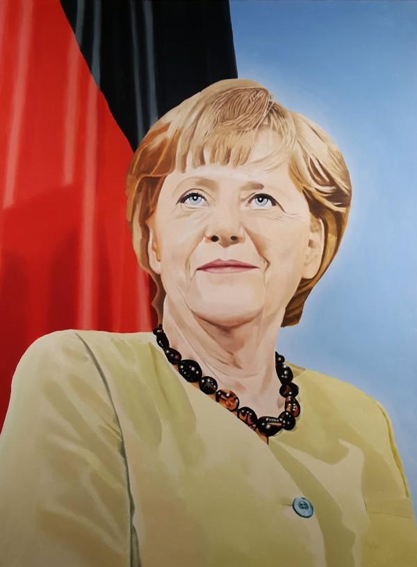 Angela Merkel by Dave Martsolf