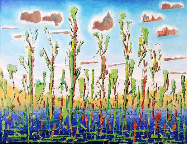 Cattails by Dave Martsolf
