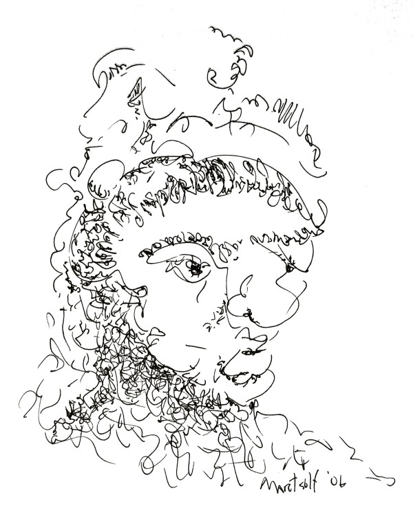 Frederick the Great, the drawing by Dave Martsolf