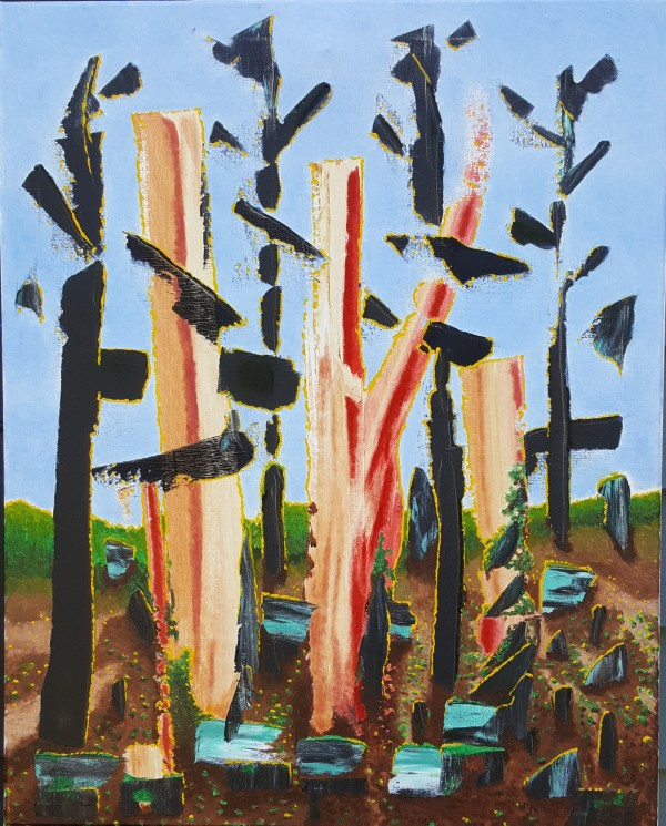 Fried Bacon Trees by Dave Martsolf