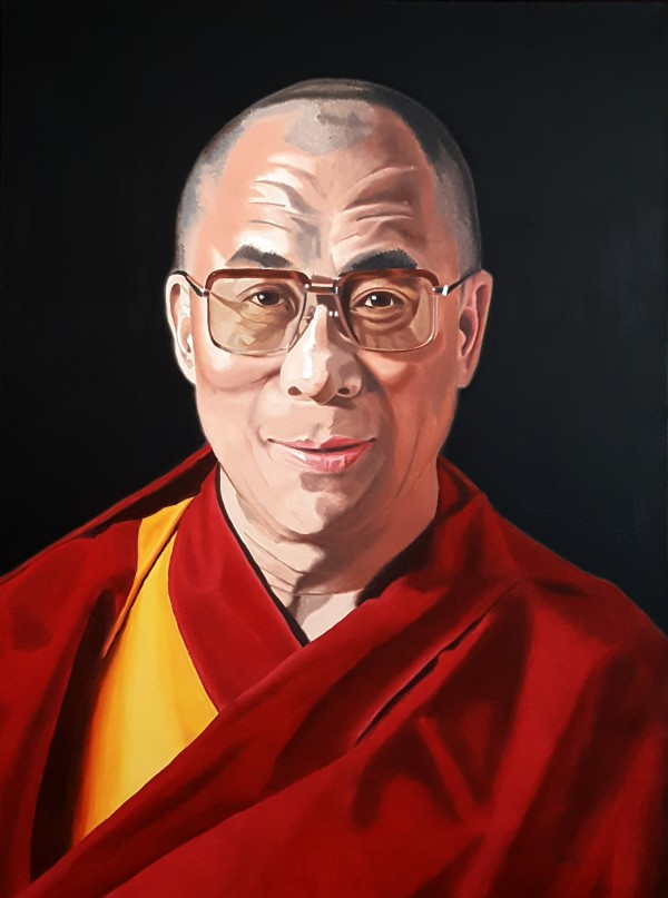The 14th Dalai Lama by Dave Martsolf