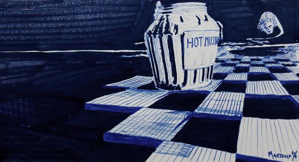 Hot Mustard by Dave Martsolf