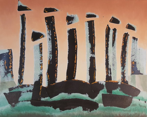 Neolithic Sunrise by Dave Martsolf