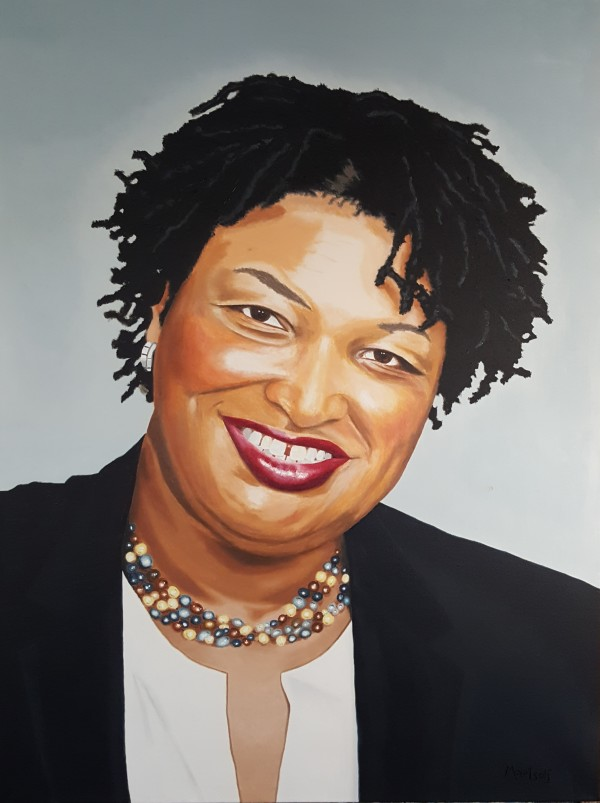 Stacey Abrams by Dave Martsolf