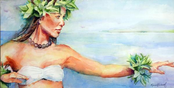 Hula Kahiko by Karen Schaaf
