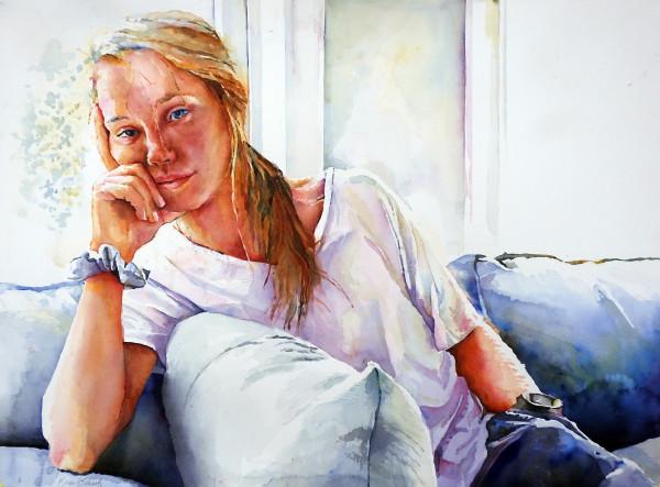 Maggie's Morning by Karen Schaaf